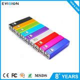 Soem-schwarze Kreditkarte-Energien-Bank 2600mAh