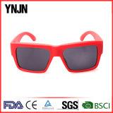 Promocional mujeres cuadrados color rojo gafas de sol (yj-2017)