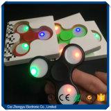 Girador da inquietação do diodo emissor de luz/girador da mão com luz do diodo emissor de luz