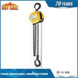 Manual de la mano Polipasto de cadena de la grúa de elevación Bloquear la cadena