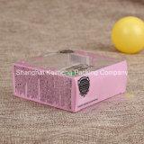 Коробка PVC милой косметики PVC ясности конструкции пластичной складывая (коробка PVC косметическая)