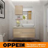 Diseño simple moderno del gabinete de baño de HPL de Oppein (BC16-H01)