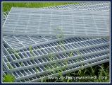 Estructura soldada la barra de metal de acero Rejillas