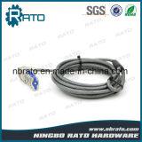 Sicherheits-erhältlicher Kombinations-Laptop-Kabel-Verschluss mit Computer
