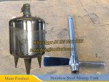 Конический нижний смешивая бак с баком верхней части Ss304 уплотнения смешивая