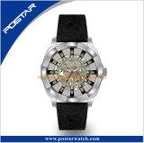Spezieller Fall-Entwurfs-Skeleton Vorwahlknopf-automatische Armbanduhr