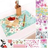 Couvre-tapis anti-caloriques colorés de Tableau de Placemat pp pour diner