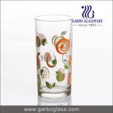 copo de vidro impresso margarida da água 7oz