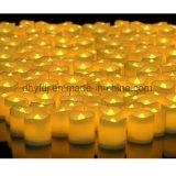 La batería funciona la luz sin llama del té de la cera LED Candle/LED de la luz/de parafina de la vela del LED