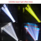 나이트 클럽 LED 이동하는 맨 위 광속 빛