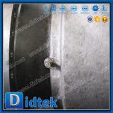 El borde reducido Wcb del alesaje de Didtek A216 termina la vávula de bola superior de la entrada