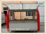 Ys-Bho230  多機能の移動式ホットドッグのカートの通りの食糧キオスク