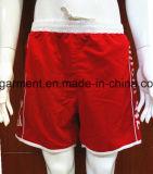 Os Shorts da placa do poliéster/algodão do desgaste da praia secam rapidamente para o homem