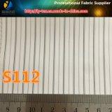 Rivestimento bianco del manicotto, tessuto del rivestimento del vestito della banda del poliestere (S112.168)