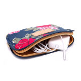 Fashion Lady Flower Print Polyester 600d 11pouces Sac de manchon d'ordinateur portable