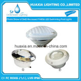 35W68 de espessura nominal Glss IP56 12VAC Piscina debaixo de luz LED