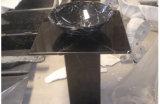 مستديرة [فريستندينغ] رخاميّ حجارة [وش بسن] لأنّ غرفة حمّام/مطبخ