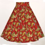 Jupes maxi pour femmes africaines Tissu en coton Ankara