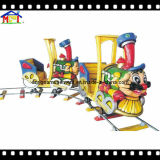 Электрическо немногая видеоигра поезда подвергает игрушку механической обработке стеклоткани