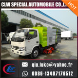 Donfengの乾燥した真空の道掃除人のトラック