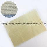 Tessuto normale d'ottone della tela metallica del grado fine di massima resistente della Cina