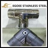 Connettori registrabili del tubo dell'acciaio inossidabile per l'angolo del gomito del tubo del corrimano
