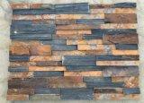 Ardesia naturale poco costosa della parete per le mattonelle di pavimento esterne