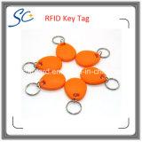 Bedruckbare Schlüsselmarke des Fabrik-Preis-13.56MHz RFID/Schlüsselring/Keyfob mit kundenspezifischem Firmenzeichen