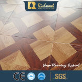 Parquet laminado en relieve de 12,3 mm Cherry Vinyl Superficie laminada encerada