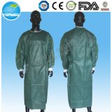Eo-Haber esterilizado médica o no el vestido del aislamiento/el vestido quirúrgico clasifican libremente