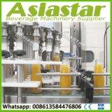 500ml-2L en verre de jus de bouteille de remplissage de la machine à laver le plafonnement de l'équipement