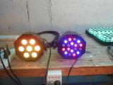 7*10W 4in1 RGBW LED Plat la luz de la IGUALDAD