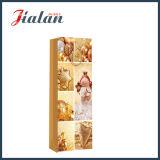 Sacchi di carta impaccanti del regalo dell'elemento portante di acquisto del regalo della bottiglia di vino di natale