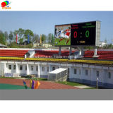 Display de LED ao ar livre com cores e impermeáveis ​​P10, P12, P16, P20 LED Display Screen Front Manter painéis LED para esportes e estádio