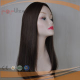 Longue perruque de cheveu de Vierge de plein lacet en soie courant de Handtied premier plein