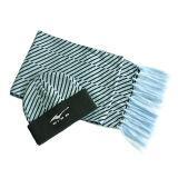 Шлем зимы Striped и шарф (JRK111)