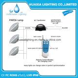 Luz subacuática blanca de la piscina de AC12V PAR56 IP68 LED