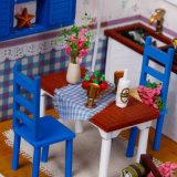 La vente en gros badine le Dollhouse en bois pour le jouet de gosses
