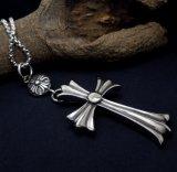 Complementos pendientes de la vendimia del collar grande de la cruz unisex