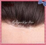 Il Hairpiece inosservabile degli uomini e delle donne della linea sottile di HOL di disegno