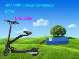 Paquete 36V 15.6ah de la batería de ion de litio de Ce/RoHS/UL/para la batería del Li-ion de la E-Vespa