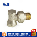 Brass control de flujo de agua del radiador de la válvula (VG-K17111)