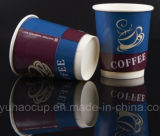 Double Wall Take Away Coffee Paper Cup with Lid