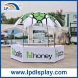 Tienda hexagonal modificada para requisitos particulares de la visualización de la impresión para la exposición