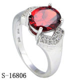 Commercio all'ingrosso d'imitazione della fabbrica dell'anello di diamante dell'argento dei monili