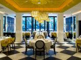 2017 chaise de salle à manger moderne avec châssis en bois massif, Restaurant mobilier commercial