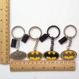 De promotie Sleutelringen van Keychains van het Metaal van het Email van de Batman van de Gift