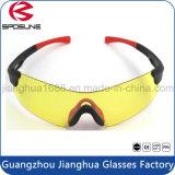 Gafas de montar sin mangas con estilo del marco de la nave de la gota que deslumbraban las gafas de sol de ciclo