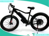 48V 500W Fat Tire la nieve bicicleta eléctrica con pantalla LED