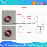 99% Al2O3 multano il tubo di ceramica dell'occhiello per macchinario di tessitura di filatura